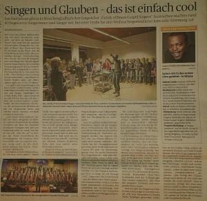 """Artikel in der """"Rheinischen Post"""" vom 24.12.2014"""