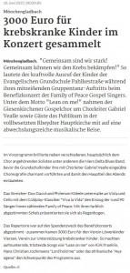 Rheinische Post /  rp-online 10.06.2015